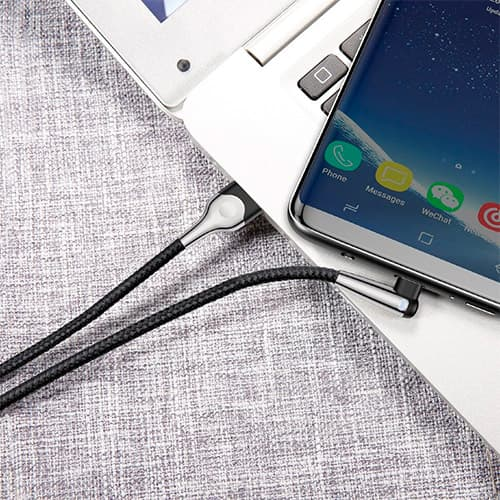 Baseus sharp-bird mobile game cable USB For Type-C 3A 1M Black