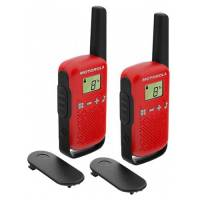 Motorola Talkabout T42 Red Twin Pack